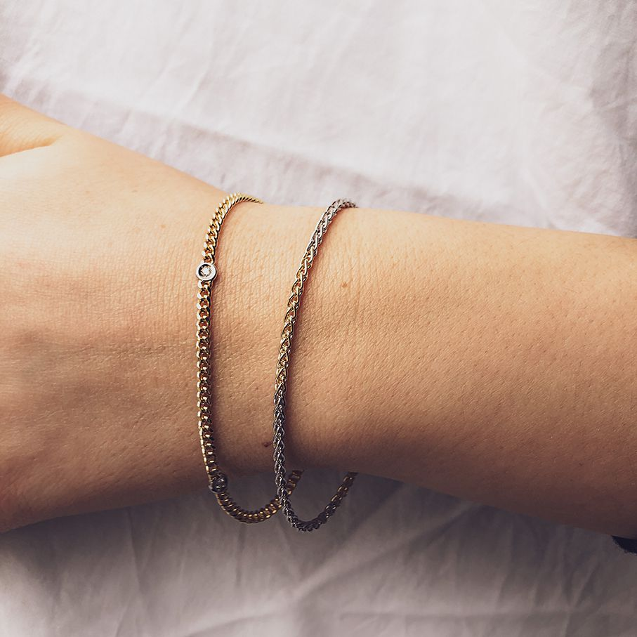 armband bicolor briljant 010 crt