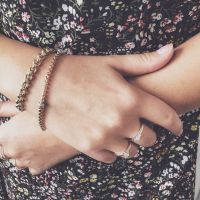armband geelgoud briljant 020 crt