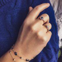 armband geelgoud edelsteen