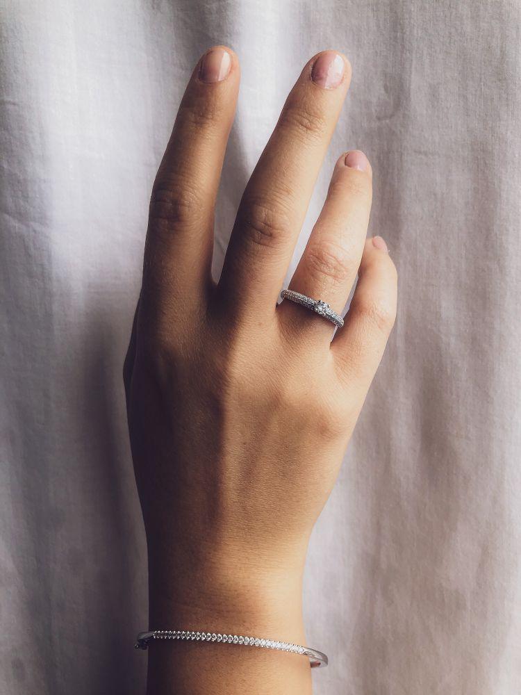armband witgoud briljant 051 crt