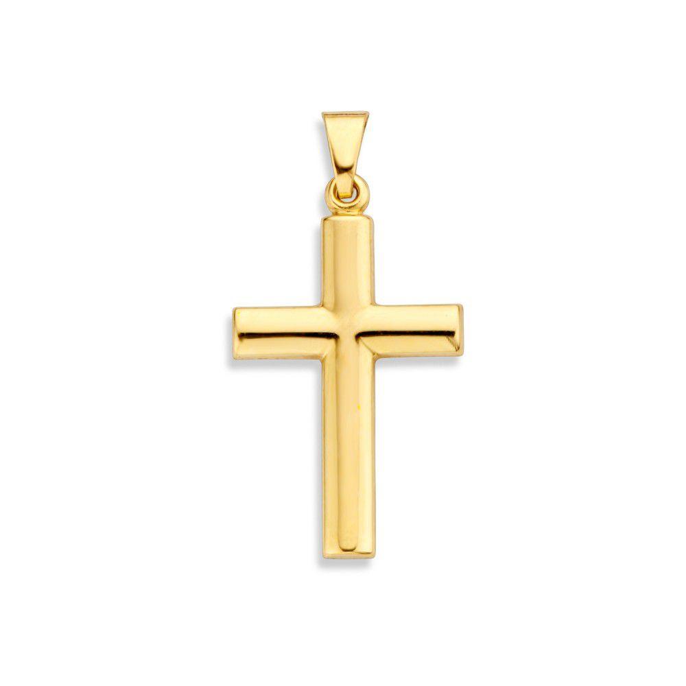 hanger geelgoud kruis