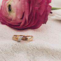 ring bicolor briljant 009 crt
