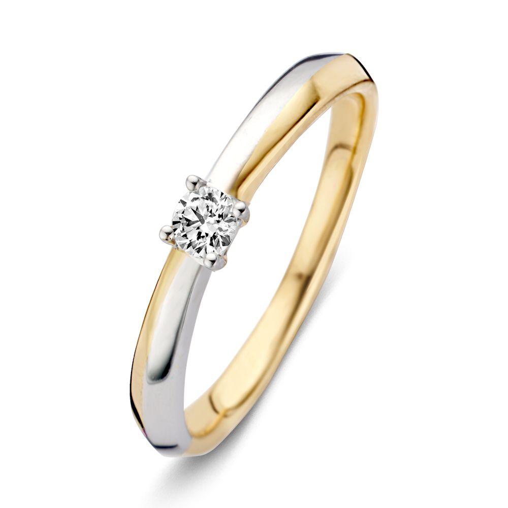 ring bicolor briljant 012 crt