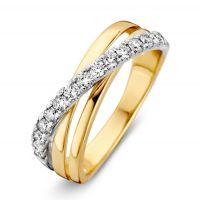 ring bicolor briljant 047 crt