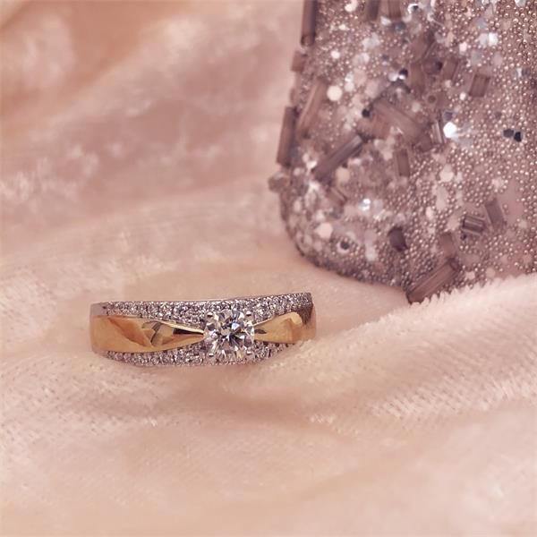 ring bicolor briljant 052 crt