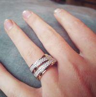 ring bicolor briljant 062 crt