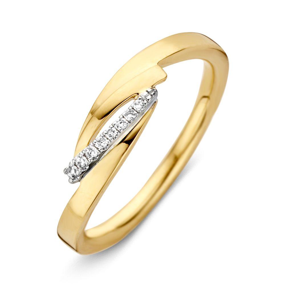 ring bicolor briljant 004 crt