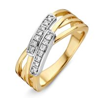 ring bicolor briljant 017 crt