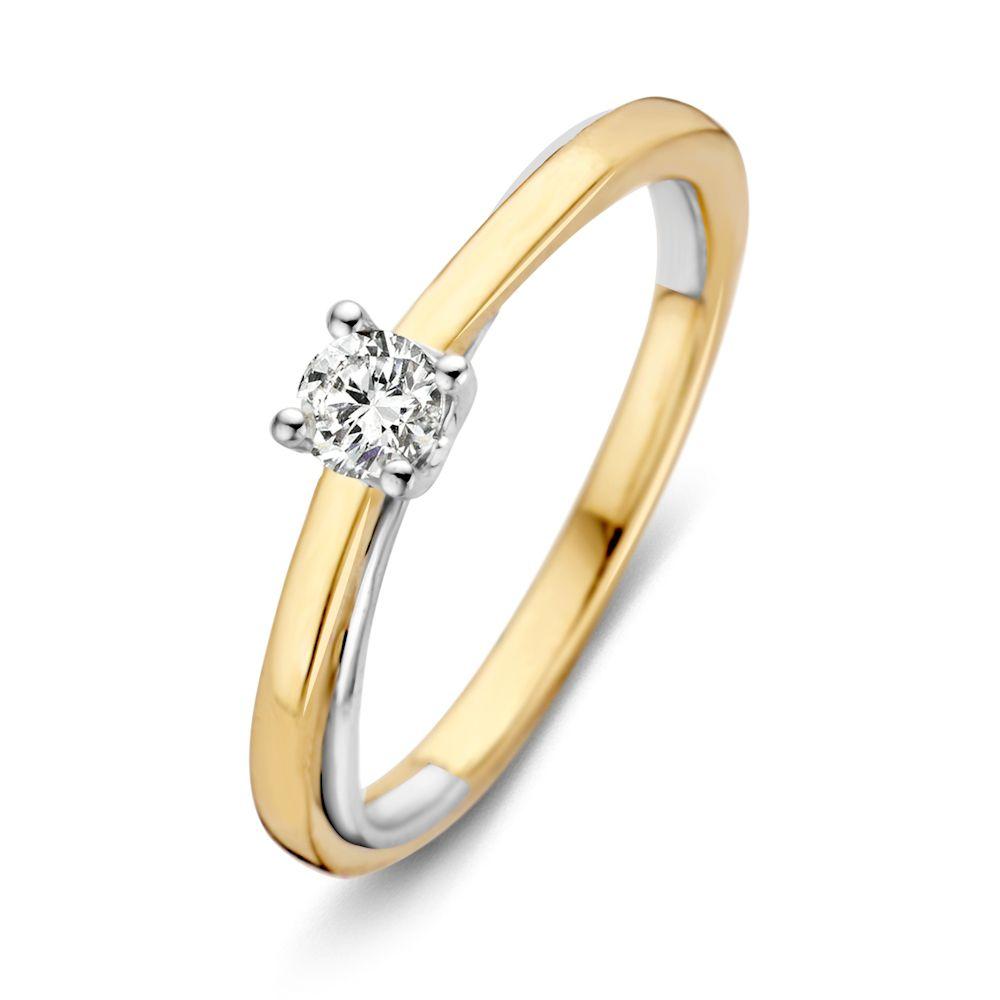 ring bicolor briljant