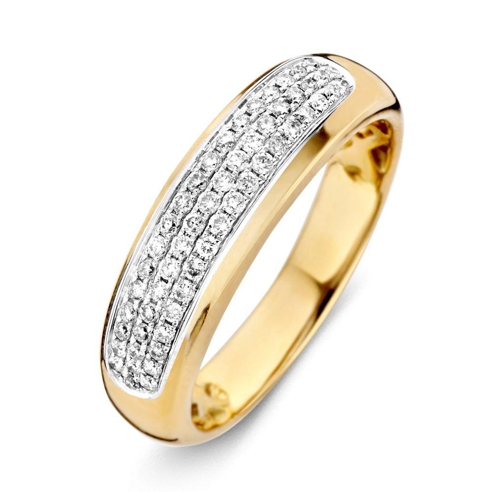 ring bicolor briljant 033 crt