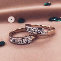 ring bicolor briljant 024 crt