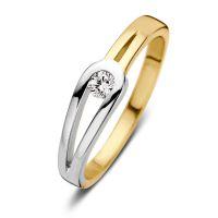 ring bicolor zirkonia