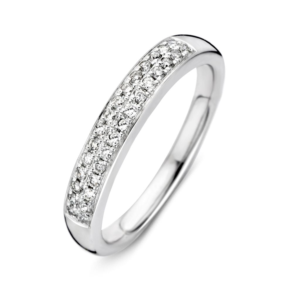 ring witgoud briljant 023 crt