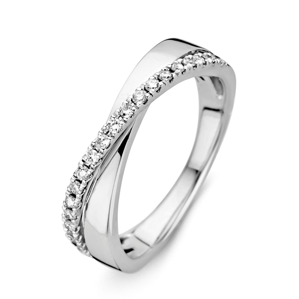 ring witgoud briljant 021 crt