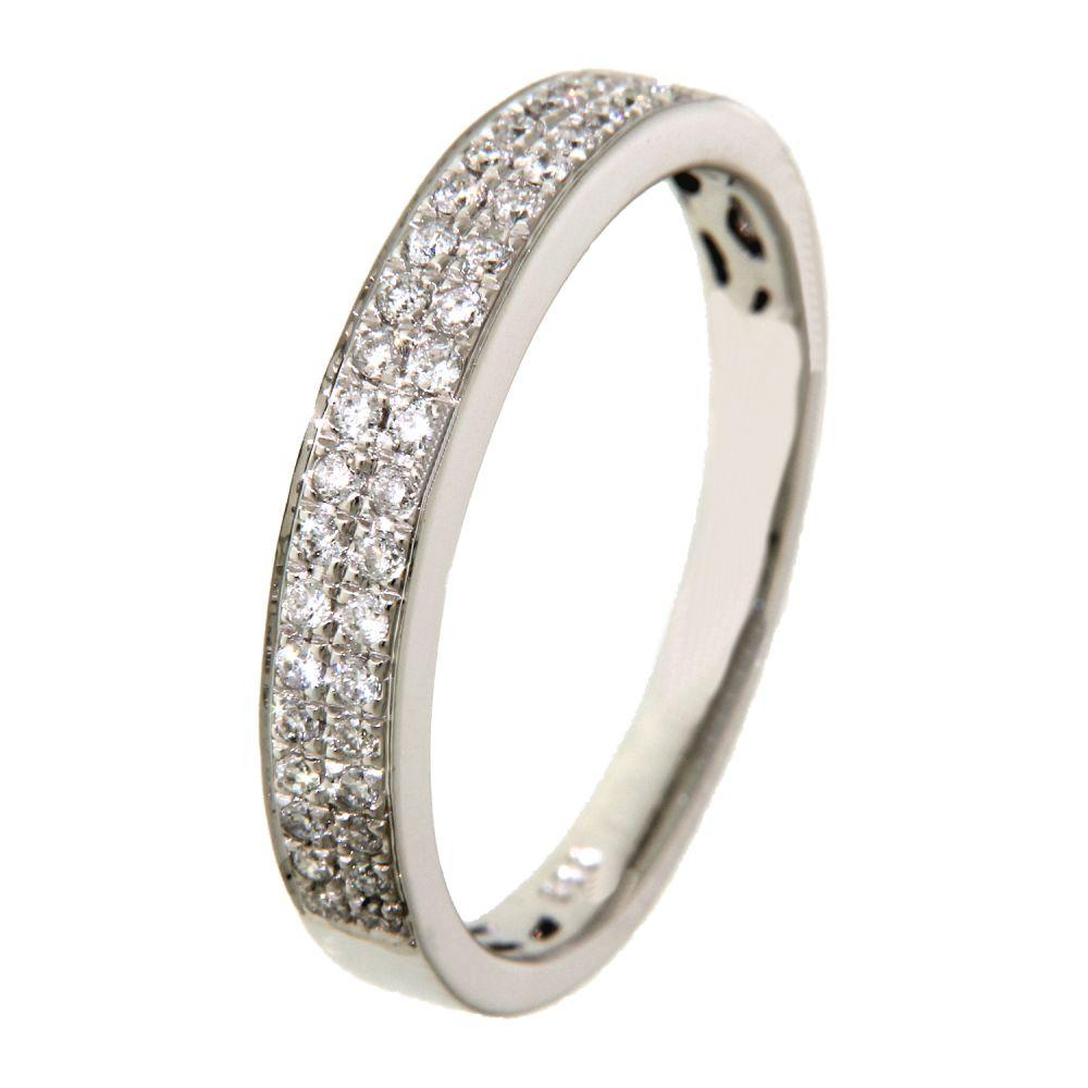 ring witgoud briljant 022 crt