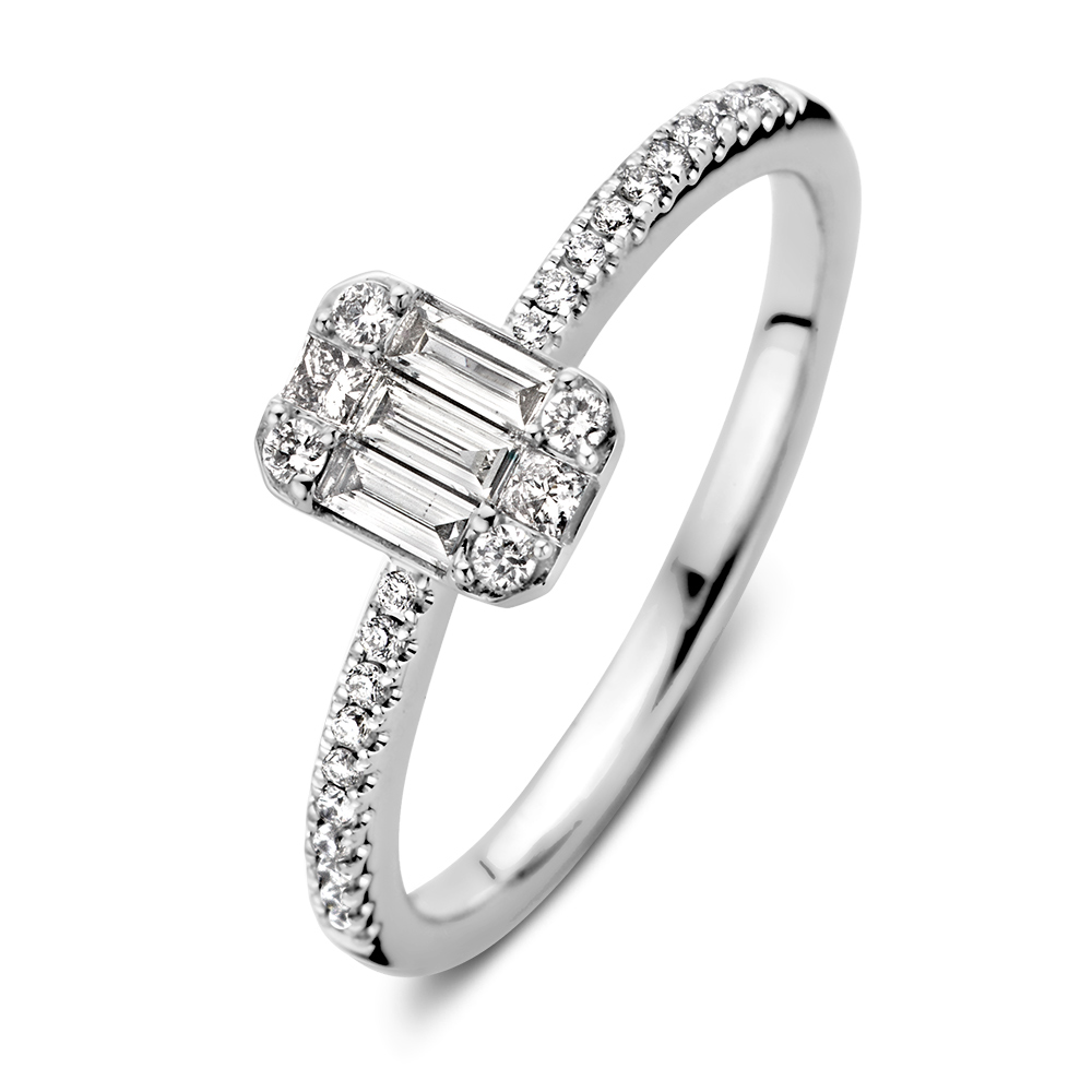 ring witgoud diamant 038 crt