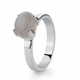 Ring zilver maansteen